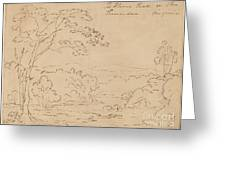The Horse Shoe On The Shanandoa (sic), Virginia Greeting Card