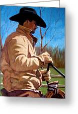 The Horse Trainer No. 2 Greeting Card