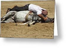 The Horse Whisperer Greeting Card