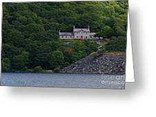 The House By The Llyn Peris Greeting Card