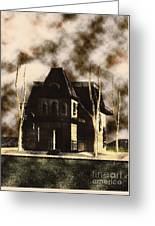 The House From Psycho Greeting Card