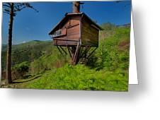 The House On The Tree - La Casa Sull'albero Greeting Card