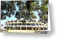 The House Pete Built - Pano Digital Painting Greeting Card