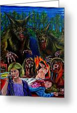 The Howling Greeting Card