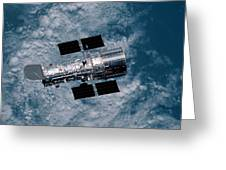 The Hubble Space Telescope Greeting Card