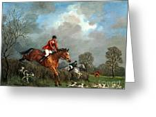 The Hunt Greeting Card