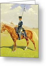 The Hussar Greeting Card