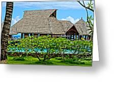 The Huts IIII Greeting Card