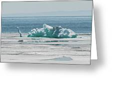 The Ice Elephant Of Silver Islet Greeting Card