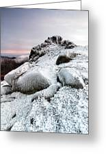 The Ice Queen Returns, North Tor Slieve Bearnagh Greeting Card