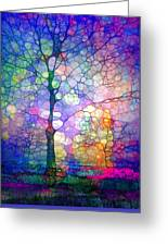 The Imagination Of Trees Greeting Card