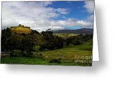 The Inca-canari Ruins At Ingapirca V Greeting Card