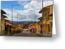 The Inca Trail Passes Through Cuenca II Greeting Card