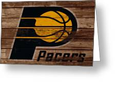 The Indiana Pacers 3b Greeting Card