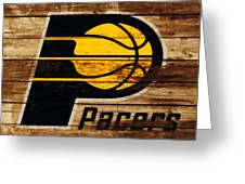 The Indiana Pacers 3c Greeting Card