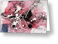 The Inexplicable Ignition Of Time Expanding Into Free Space Phase Two Number 14 Greeting Card by Mark M  Mellon
