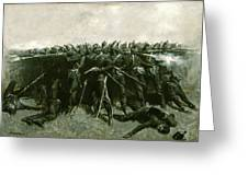 The Infantry Square Greeting Card