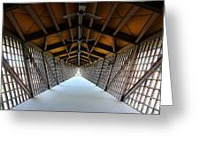 The Infinity Room Greeting Card