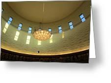 The Interior Lighting Greeting Card