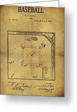 The Invention Of Baseball Greeting Card