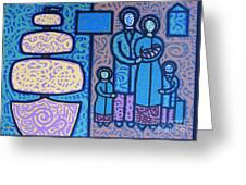 The Irish Famine Greeting Card