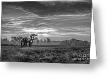 The Iron Horse A New Dawn 7 Greeting Card