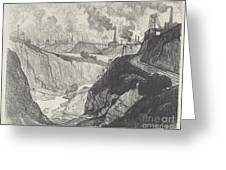 The Iron Mine Greeting Card