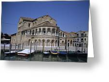 The Island Of Murano Is A Quiet Islan Greeting Card by Taylor S. Kennedy