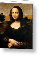The Isleworth Mona Lisa Greeting Card