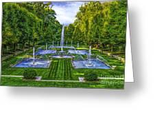 The Italian Water Gardens Greeting Card