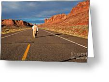 The Itinerant Photographer Greeting Card