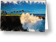 The Jack Nicklaus Signature Hualalai Golf Course Greeting Card