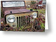 The Jeepster Greeting Card
