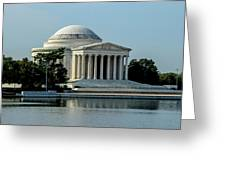 The Jefferson Memorial 2 Greeting Card