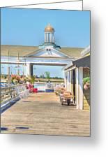 The Jekyll Wharf Greeting Card