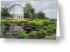 The Jewel Box At Forest Park Greeting Card