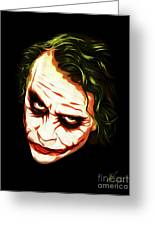 The Joker - Pop Art Greeting Card
