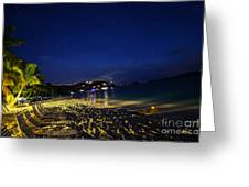 The  Jost At Night  Greeting Card