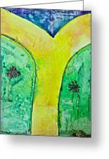 The Journey #56 I'm Walking On Sunshine Greeting Card