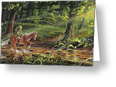 The Journey Begins Greeting Card