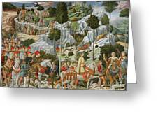 The Journey Of The Magi To Bethlehem Greeting Card