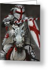 The Joust Greeting Card