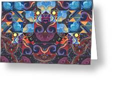 The Joy Of Design Mandala Series Puzzle 6 Arrangement 8 Greeting Card
