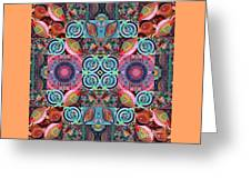 The Joy Of Design Mandala Series Puzzle 7 Arrangement 1 Greeting Card