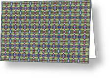 The Joy Of Design X X X I I I Arrangement 1 Tile 9x9 Greeting Card