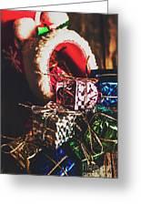 The Joy Of Giving On Christmas Greeting Card