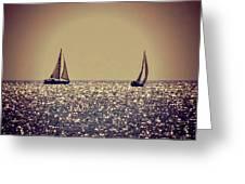 The Joy Of Sailing Greeting Card