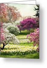 The Joy Of Spring Greeting Card