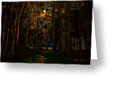 The Jungle Moon Greeting Card