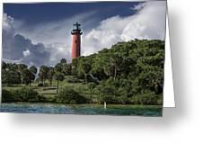 The Jupiter Inlet Lighthouse Greeting Card